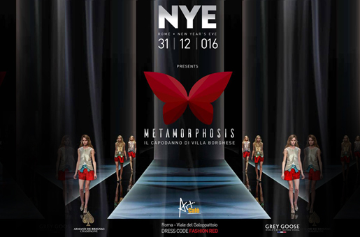 New Year's Eve at Art Cafè: Metamorphosis