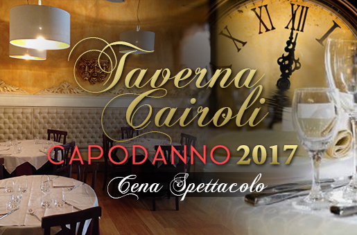New Year's Eve at Taverna Cairoli: dinner show + live music